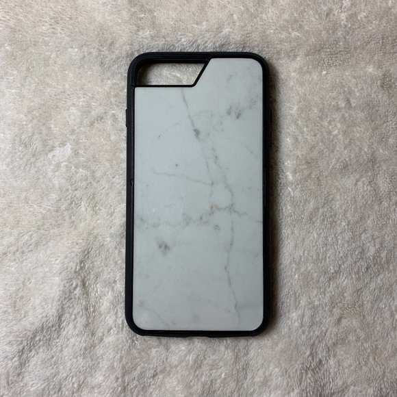 best deals on f1ed7 edfe0 Mous White Marble iPhone 6+/7+/8+ Case